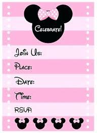 Minnie Mouse Invitation Maker Hurremhamamotuyagi Co