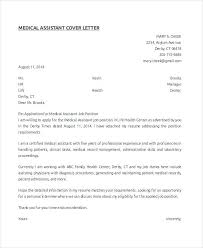Medical Assistant Cover Letter With No Experience Collection Of
