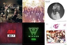 Weekly K Pop Music Chart 2016 February Week 3 Soompi