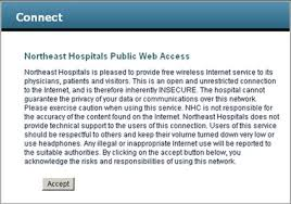 Hospital Patient Guest Wireless Network Beverly Hospital