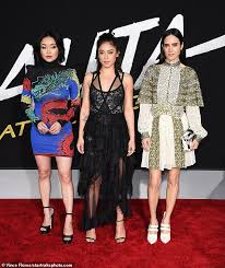 The film, which is based on a japanese comic. Jennifer Connelly Rosa Salazar And Lana Condor Stun At The Alita Battle Angel La Premiere Daily Mail Online