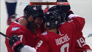 Giroux Canada For Team Sit To Braden Claude Holtby