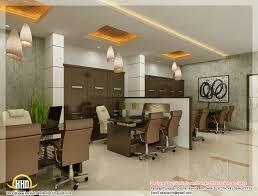 3d office design. Beautiful 3D Interior Office Designs - Kerala Home Design, 1024x778 In 174.5KB 3d