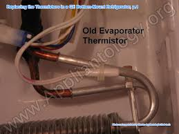 Ge Refrigerator Thermistor Chart How To Properly Replace The Thermistors In A Refrigerator