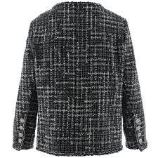 Chanel Checked Tweed Jacket