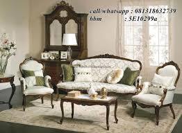 set sofa tamu klasik victorian ksi 06