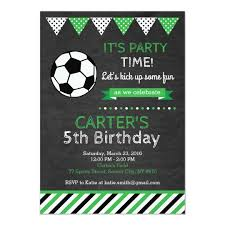 Soccer Party Invite Soccer Party Invitation Magdalene Project Org