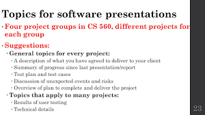 feasibility studies cs lecture ppt video online topics for software presentations