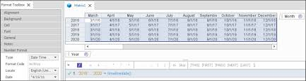 Working With Calendar Fiscal Timelines