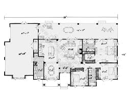 open floor house plans one story best of dove creek farm house home plan at design