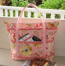 Sewing Patterns for Travel Bags: When You're on the Go & Pink Patterned Bag Adamdwight.com