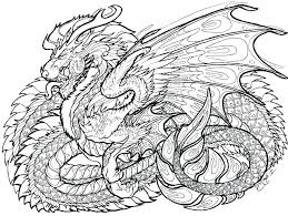 Dragon Coloring Pages Free