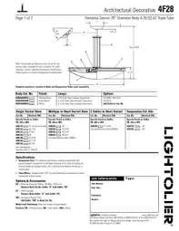 lightolier architectural decorative 4f28 user guide for pdf manual lightolier architectural decorative 4f28 click to preview