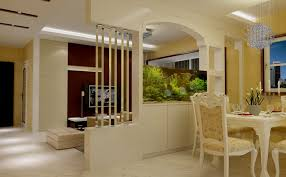 Partition Dining Room Living Wall Design