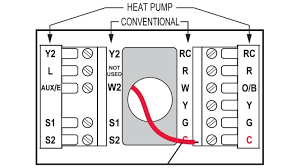 wiring diagram for thermostat heat pump the wiring wire a thermostat