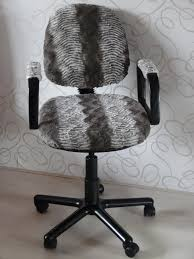 diy fur chair reupholster via ahappyhomeinholland