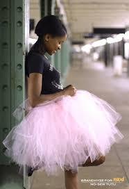 no sew tutu pink tulle mood fabrics