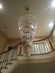 awesome chandeliers for foyer and modern crystal chandelier foyer design design ideas elect7
