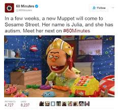 Has Julia Our Imgur Autism Muppet Meet Album On New Special - She