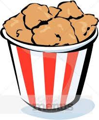 bucket of fried chicken clipart. Inside Bucket Of Fried Chicken Clipart