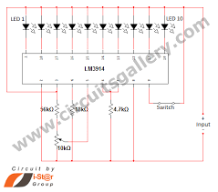 led dot display based battery charge level indicator circuit led dot display based battery charge level indicator circuit diagram circuits gallery