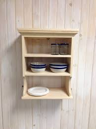 ... Exquisite Kitchen Decoration With Wooden Plate Rack Wall Mounted :  Gorgeous Kitchen Decoration Design Interior Ideas ...