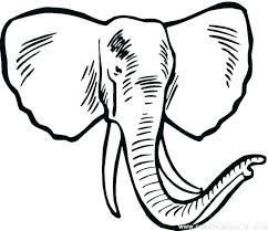 Cartoon Elephant Coloring Pages Free Elephant Color Pages Free