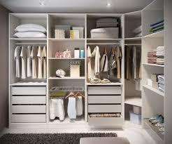 contemporary closet with custom storage built in bookshelf within ikea closets idea