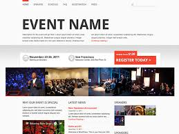 Event Website Template Inspiration 24 Best Events WordPress Themes 24 AThemes
