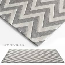 grey chevron rug 3d model max obj fbx 1