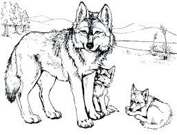 Coloring Page Wolf Coloring Pages Wolf Color Free Page Capricious