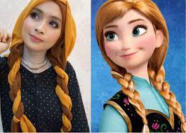 disney 39 s princess anna frozen inspired makeup tutorial