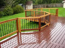 best deck railing options