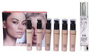 mac matte liquid foundation face primer gel spf 15 30 ml