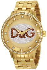 mens d g watch new d g dolce gabbana dw0379 gold prime time watch 2 year warranty