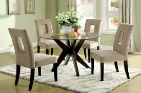 table pretty round glass top dining tables 20 good 48 inch round glass top dining tables