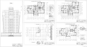 Курсовые и дипломные проекты Многоэтажные жилые дома скачать  Курсовой проект 17 ти этажный 50 квартирный жилой дом в г