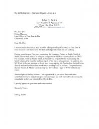 Astounding Cover Letter Sample For Secretary Position 58 With