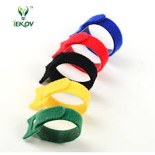 compare prices on cable ties sizes online shopping buy low price 20pcs magic tape wiring harness tapes velcro cable ties tie cord computer cable earphone