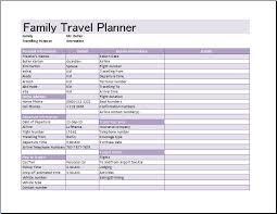 Travel Schedule Trip Schedule Template Rome Fontanacountryinn Com