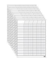 White Incentive Chart White Incentive Chart Pack Of 10