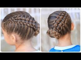 Pretty Girls Hairstyle zipper braid updo cute girls hairstyles youtube 5896 by stevesalt.us