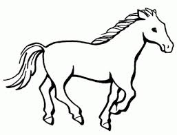 horses drawings easy. Simple Horses How To Horse Drawing  Clipart Library Intended Horses Drawings Easy H
