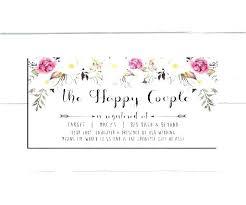 Gift Registry Template Bridal Shower Registry Rocard