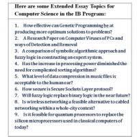 computer essay topics ib computer science extended essay topics mistyhamel