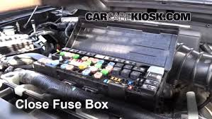 blown fuse check 2009 2014 ford f 150 2010 ford f 150 svt raptor 2004 F150 Fuse Box 6 replace cover secure the cover and test component 2004 f150 fuse box diagram