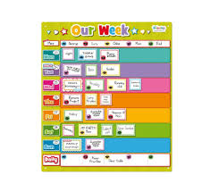table chart for kids. Our Week Planner For Kids Charts By Fiesta Crafts Table Chart M
