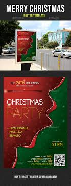 christmas poster templates share stock merry christmas poster template v01