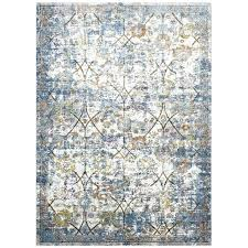 yellow gray rug blue and yellow rugs distressed fl lattice area rug in light blue yellow yellow gray rug