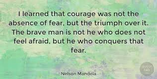 Image]Never let fear conquer you : GetMotivated